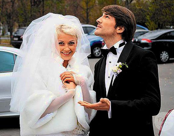 Любава Грешнова с мужем Михаилом Пшеничным