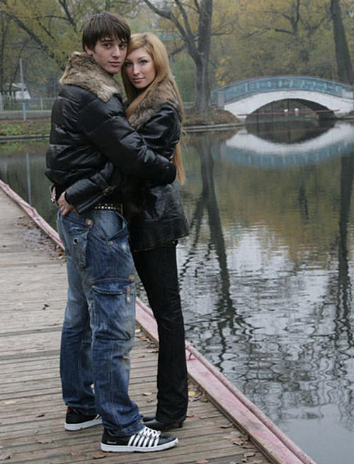 Станислав Бондаренко с женой