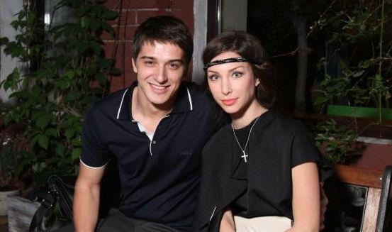 Стас Бондаренко с первой женой