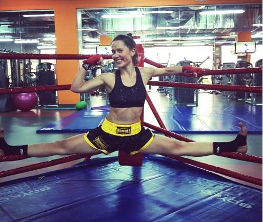 Анастасия Карпенко и спорт